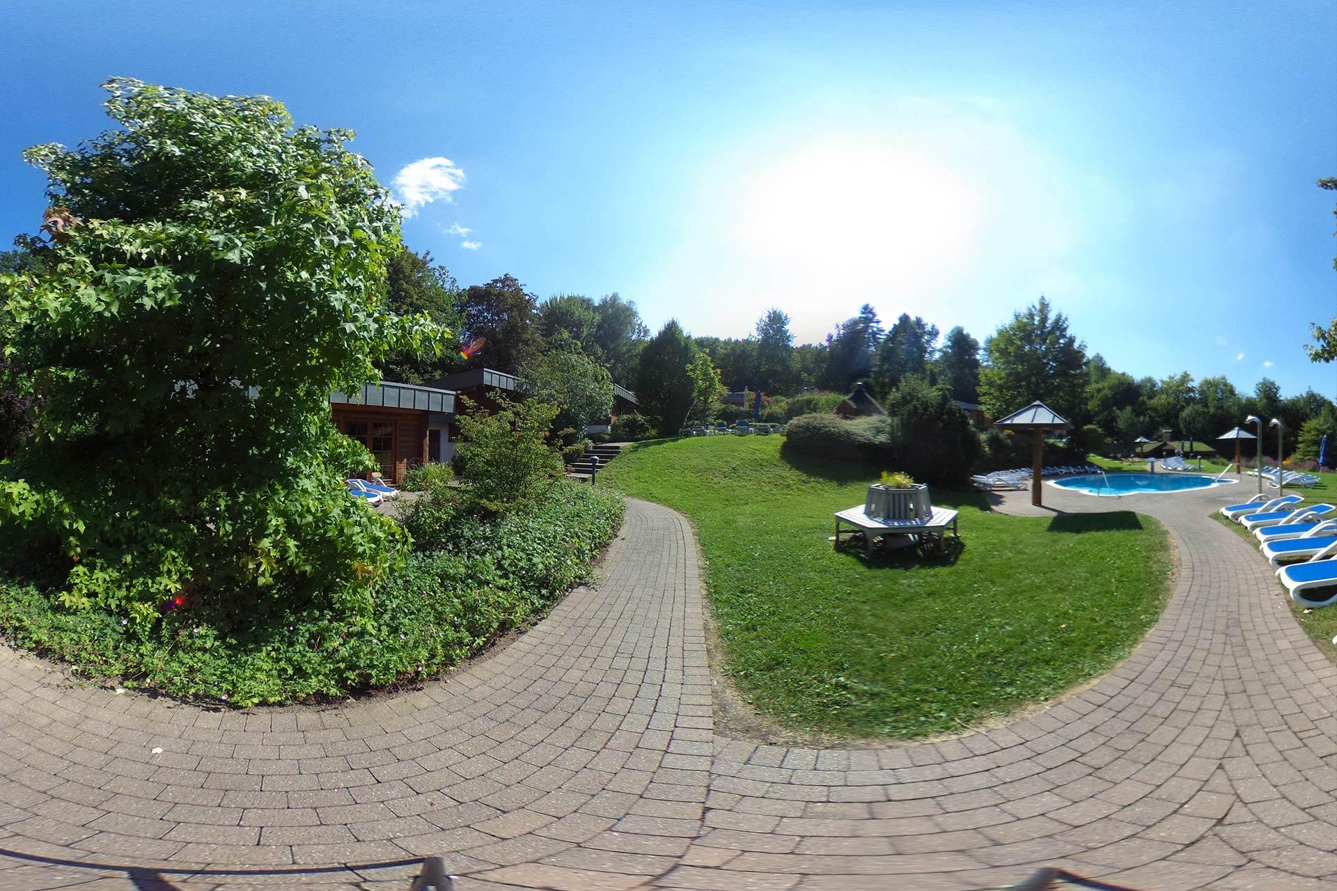 Saunadorf 360°-Tour